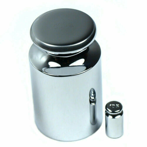 500g Calibration Weight with Free 5 Gram Test Weight Chrome