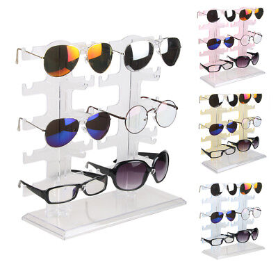 Acrylic Sunglasses Display Rack Eyeglasses Glasses Show Stand Organizer Holder