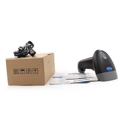 New Laser Handheld Barcode Scanner Gun Bar Code Reader Usb Cable For Pos Us