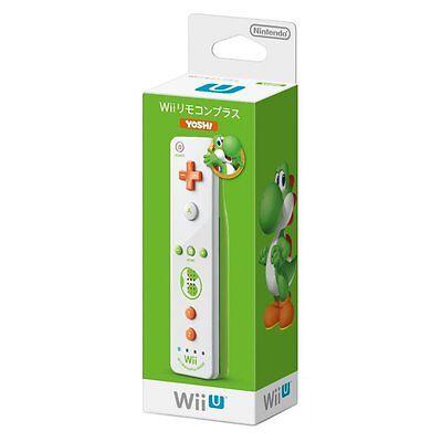 New Nintendo Wii U Super Mario Bros Wii Remote Control Yoshi Japan