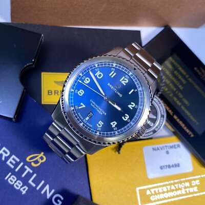 Breitling Navitimer 8 Automatic 41 A17314 Blue Dial - PX & Finance Available