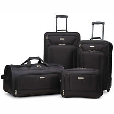 "American Tourister Fieldbrook XLT 4 Piece Luggage Set (25"", 21"") - Choose Color"