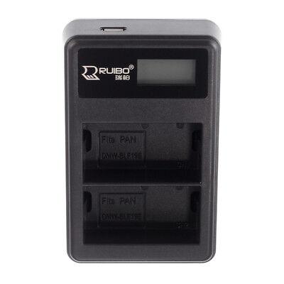 Зарядное устройство BLF19 LCD USB 2