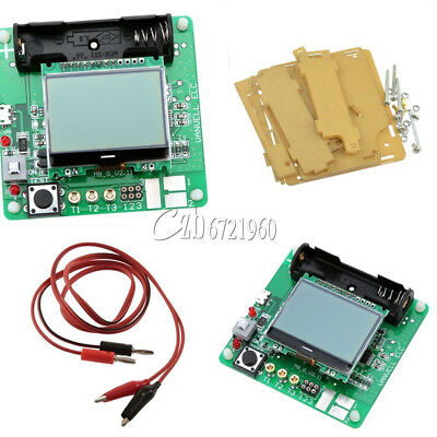 Transistor Inductor Capacitor Esr Meter Mg328 Digital Lcd Tester Case