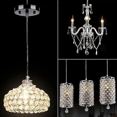 Modern Crystal Chandelier 6Ceiling Light Lamp Pendant Fixture Lights Decoration - Chandelier Decoration