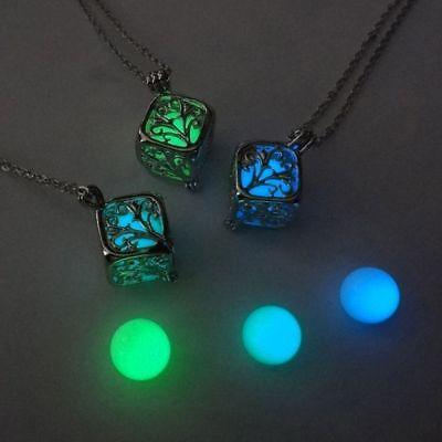 Color For Women Best Friend Pendant Luminous Tree Of Life Necklace