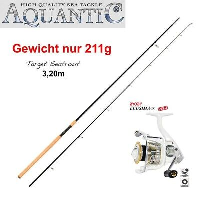 Spro GAMAKATSU AREATRY 60XUL 1.80m 0,8-4g Trout Rod Forellenrute UL 95g Rute NEW