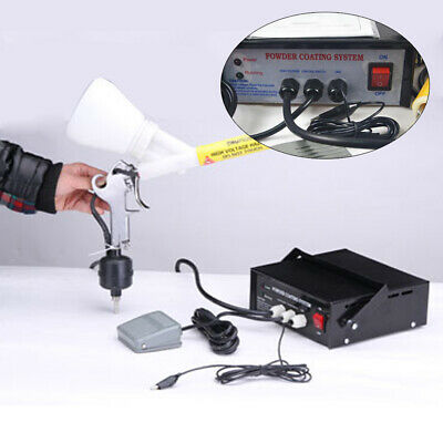 Portable Original Powder Coating System 10-15 Psi 5cf Paint Spary Gun Pc03-5