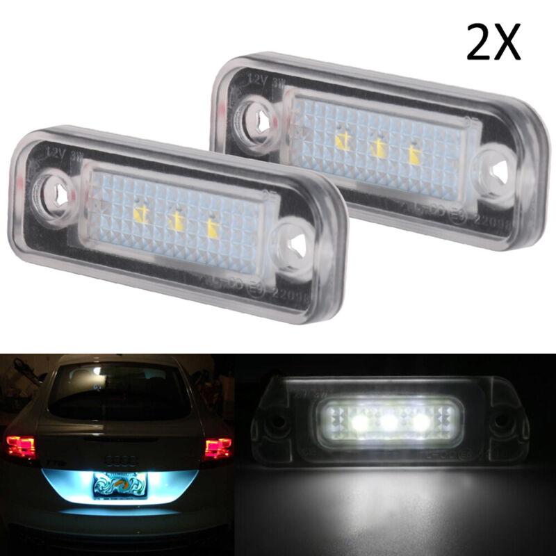 2x LED Kennzeichenbeleuchtung Mercedes C-Klasse S203 T-Model C 220 CDI 1103