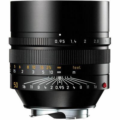 New Leica Noctilux-M 50mm F/0.95 ASPH E60 #11602 Black M10P M240P M9 M8 M7