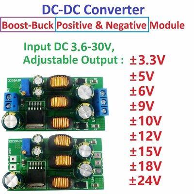 20w - 5-24v Positive Negative Dual Output Power Supply Boost-buck Converter