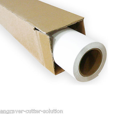 """29"""" x 98´ Roll White Color Print and Cut Heat Transfer Vinyl For T-shirt Fabric"""