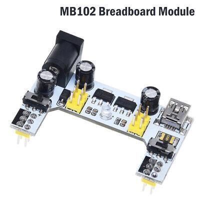 Mb102 Solderless Power Supply Module Pcb Breadboard 5v 3.3v