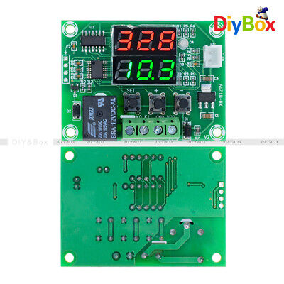 Dual Led Dc 12v Digital Cycle Timing Delay Timer Relay Module Clock Controller