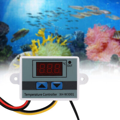 Digital Led Temperature Controller 10a Thermostat Control Switch Probe Dc12v24v