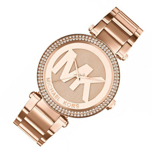 Michael Kors Women's Parker Rose Gold-Tone Watch MK5865