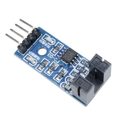 5pcs Slot Type Optocoupler Module Lm393 Comparator Slot-type 3.3v-5v For Arduino
