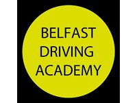 Learn to drive with the Belfast Driving Academy