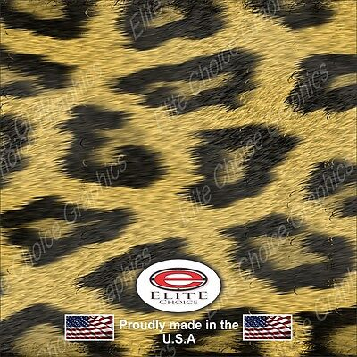 """Leopard Print Wrap Vinyl Truck Camo Car SUV Real Camouflage 52""""x6ft"""