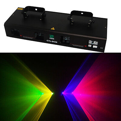 360mw RGYV 4 lens dj disco DMX Party laser stage Lighting show equipment - Party Equipment