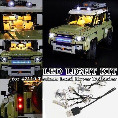 LED LIGHT for LEGO 42110 Technic Land Rover Defender Building Blocks Bricks DIY
