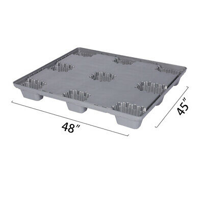 48 X 45 X 5.9 Plastic Pallet Pack Container Base