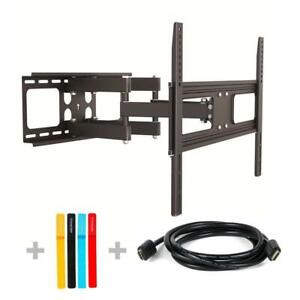 NEW 3-in-1 PrimeCables Full Motion Tilts Swivel TV Wall Mount For 37 to 70 inch Flat Panel Monitor / LCD LED Plasma...