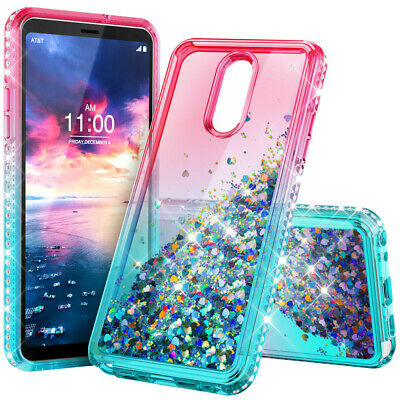 For Samsung Galaxy J7 2018/Star/ Refine/TOP/Crown Case + Glass Screen Protector