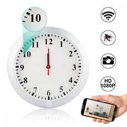 WiFi Hidden Camera Wall Clock Spy Camera,Camakt 1080P HD Wireless Digital...