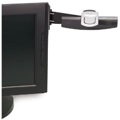 3m Monitor Mount Document Clip Mounts Right Left With Command Adhesive Swings