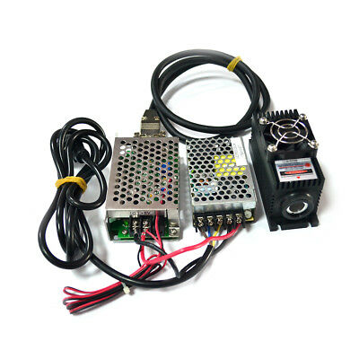 450nm 1w Diode Laser Module Ttlana Tec Cooling Lsr-ps-i Oem Type Power Supply