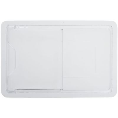 Cambro Food Storage Box Cover Clear Plastic Sliding Cold - 18l X 12w