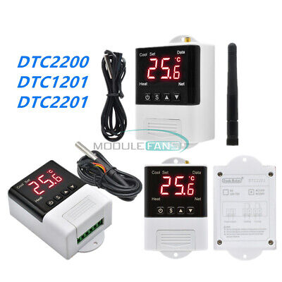 Ac110-220v App Control Wifi Intelligent Temperature Controller Thermostat Sensor