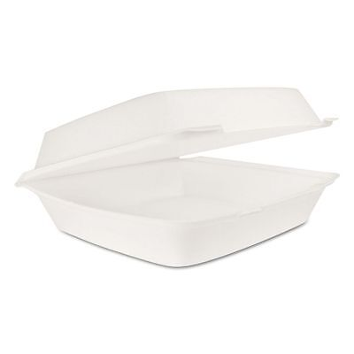 Dart Takeout Foam Clamshell Food Containers - DCC110HT1
