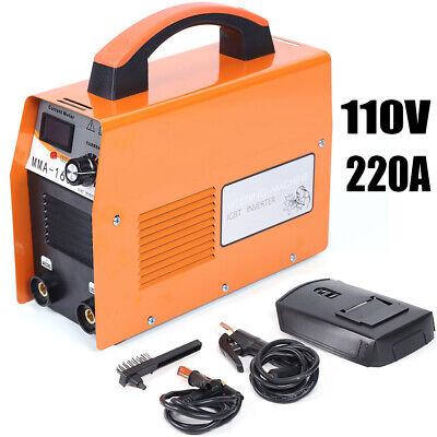 110v 20-120a Mini Electric Welding Machine Igbt Ac Inverter Arc Mma Stick Welder
