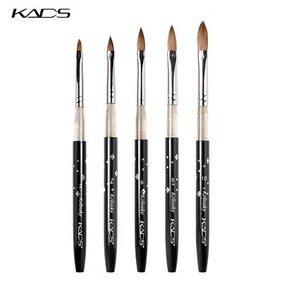 KADS 100% Kolinsky Sable brushes acrylic nail brush professional nail art tool