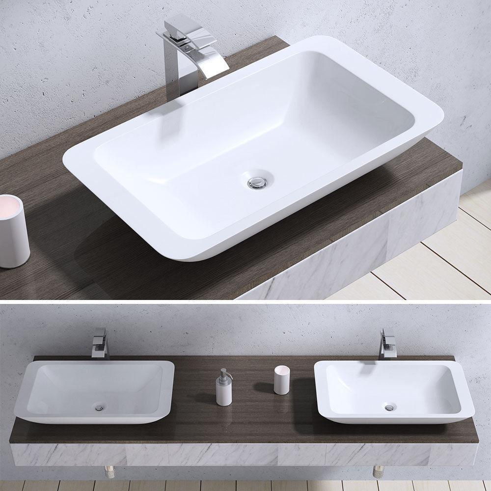 lavabo vasque vier poser accessoire fonte min rale. Black Bedroom Furniture Sets. Home Design Ideas