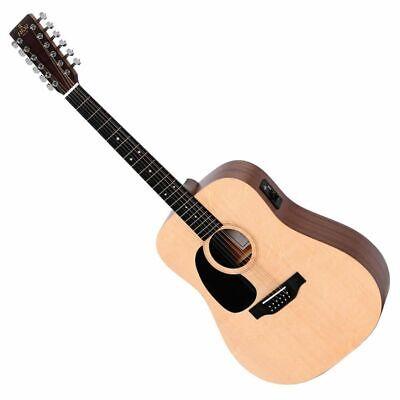 Sigma SE Series DM12EL 12-String Acoustic Guitar, Left Handed