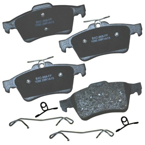 Disc Brake Pad Set-Stop Ceramic Brake Pad Rear Bendix SBC1779