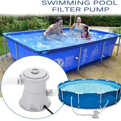 Cartridge Pool Electric Filter Pump Set 300 Gallon Element Circulating Pump Kits