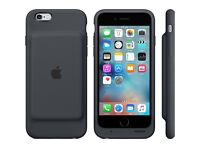 Brand New iPhone 6 and 6s Smart Battery Case - Charcoal Grey
