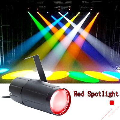 3w Single (U`King 3W LED Bühnenlicht Rotlicht Pin Spot Single Stand Disco Party DJ Show KTV)