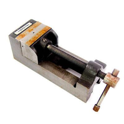 Palmgren 9613251 2-716 Precision Ground Drill Press Vise Smooth Jaw 3-18 Open