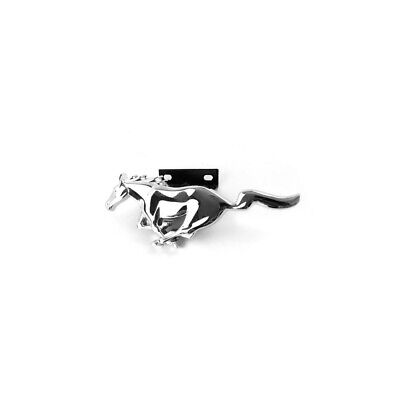 1994-2004 Mustang Front Grille Chrome Running Horse Pony Emblem (Horse Emblem)
