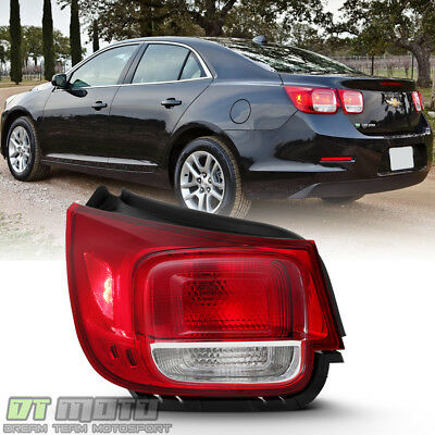 NEW 2013-2015 Chevy Malibu [NON-LED]Tail Light Brake Lamp Outer Driver Side LEFT