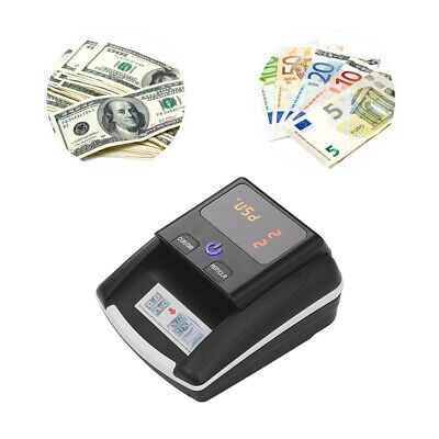Money Cash Counting Bill Counter Bank Counterfeit Detector Uvmgir Machine F4g8