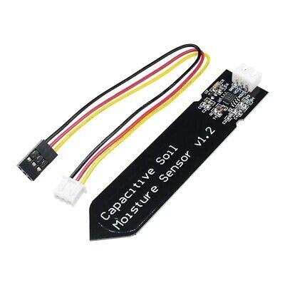 12510pcs Analog Capacitive Soil Moisture Sensor Corrosion Resistant Cable Kit