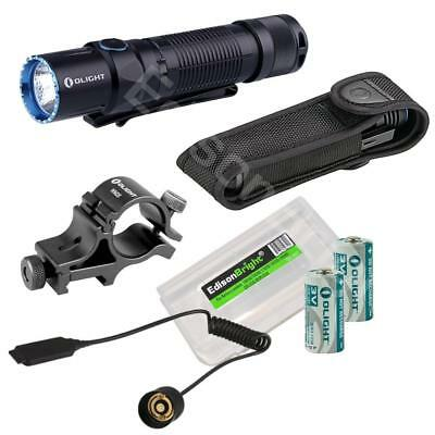 Olight M2T Warrior 1200 lumen CREE LED Tactical Flashlight weapon mount kit