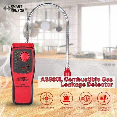 (Portable Gas Leak Detector Benzene Propane Methane Natural Tester Alarm Sensor)