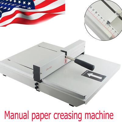 Usa Ship Adjustable Manual Scoring Paper Creaser Creasing Machine Creaser Scorer